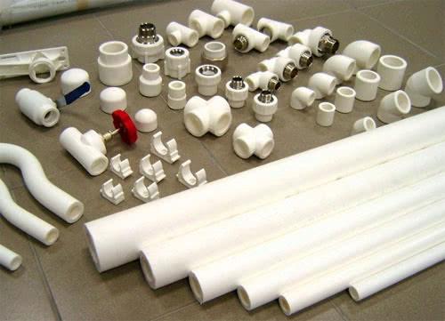 Пластиковые соединения для труб