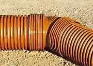 трубы пластиковые для наружной канализации