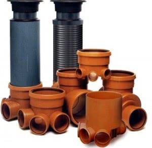 Трубы пластиковые для дренажа