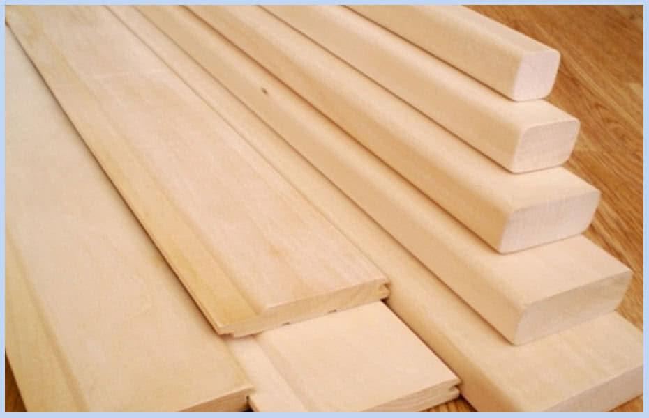 Белая древесина липы
