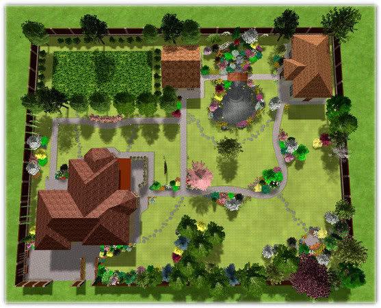 Проектирование благоустройства территории