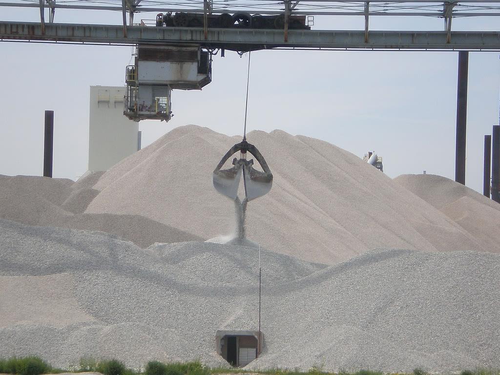 Производство цемента сухим способом