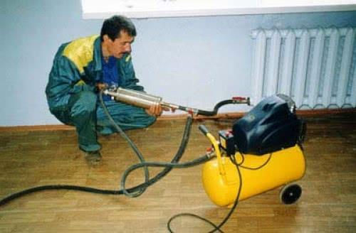 Пневмогидроимпульсная промывка труб водоснабжения
