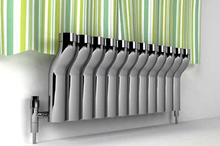 Работа радиатора отопления