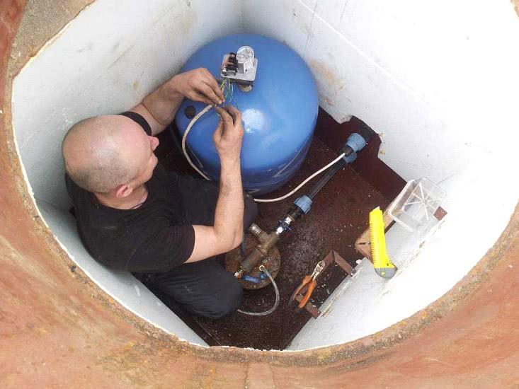 Замена водоподъемного оборудования
