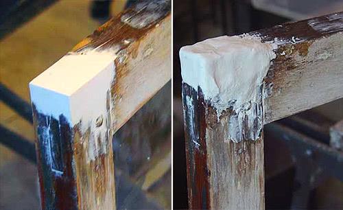 Ремонт деревянной рамы