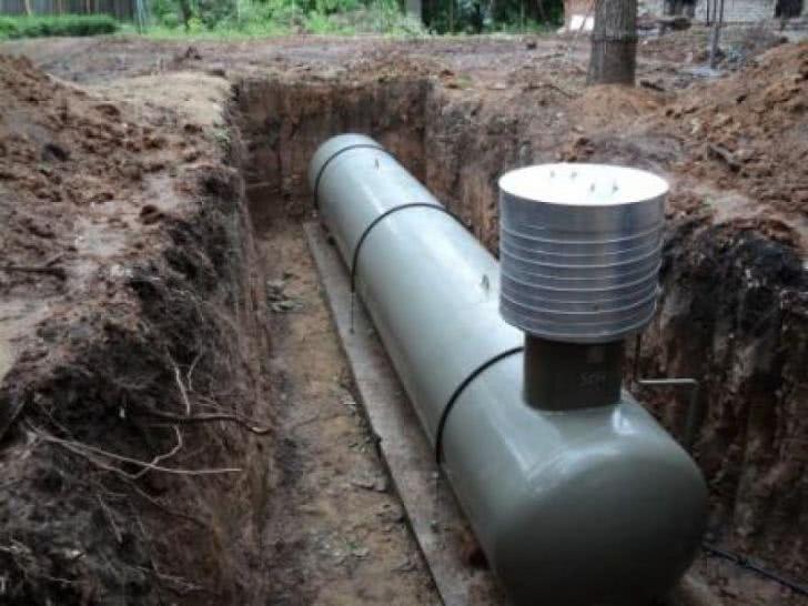 Подземный газольдер