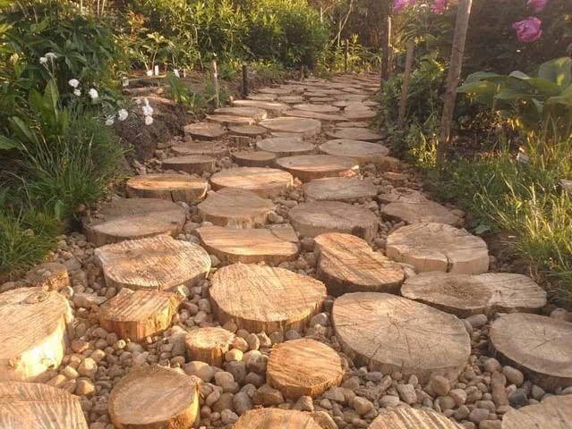 Формирование «деревянной брусчатки»