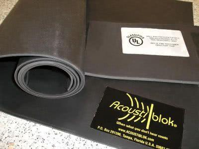 Акустиблок для шумоизоляции