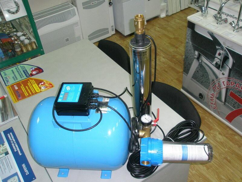 Комплекс автоматизированного водоснабжения