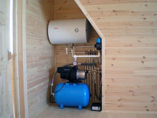 Система водоснабжения частного (загородного) дома