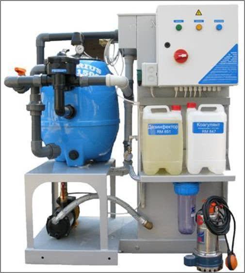 Система оборотного водоснабжения