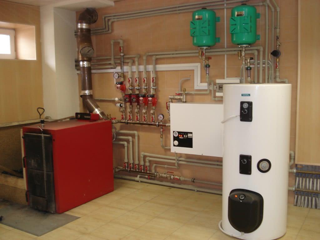 Центральным элементом системы отопления