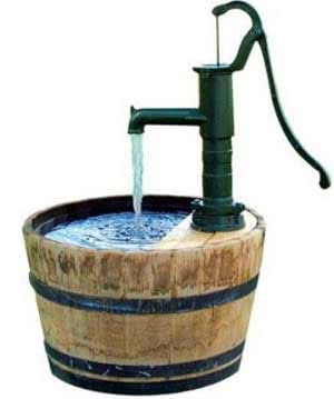 Водяная скважина на даче