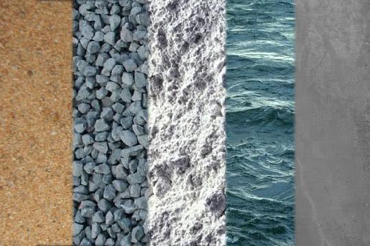 Основные составляющие бетона