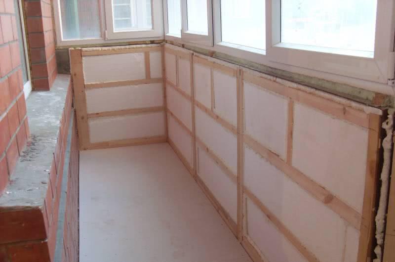 Теплоизоляция балкона или лоджии