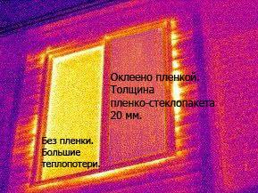 Применение теплосберегающей пленки