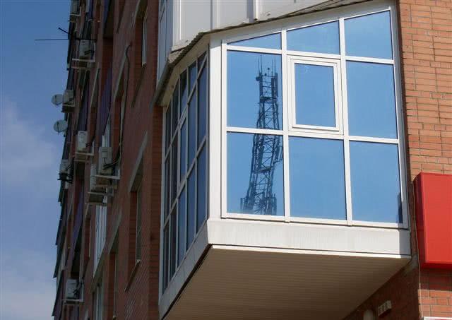 Тонировка окон балкона