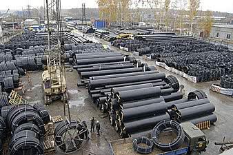 Трубы ПНД для канализации2