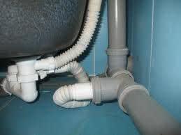 Трубы внутренней системы канализации