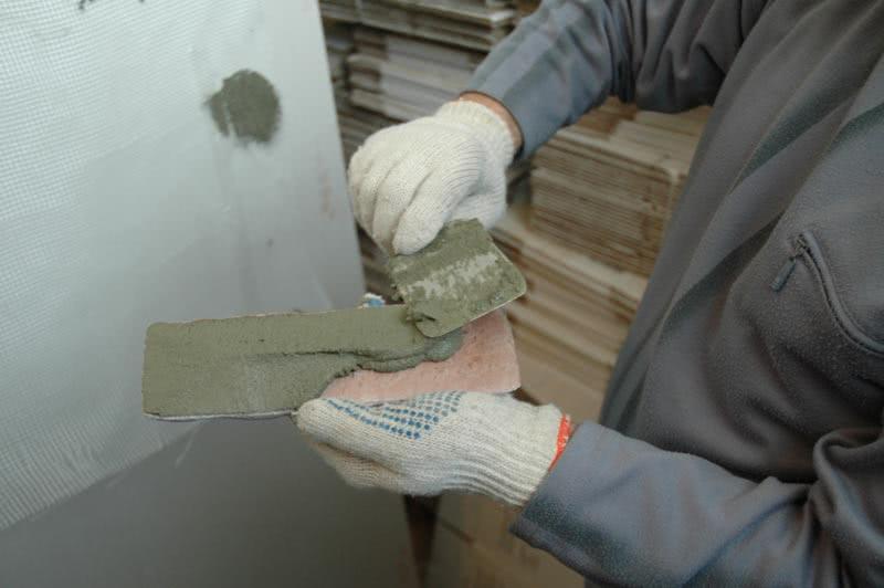 Укладка декоративного камня