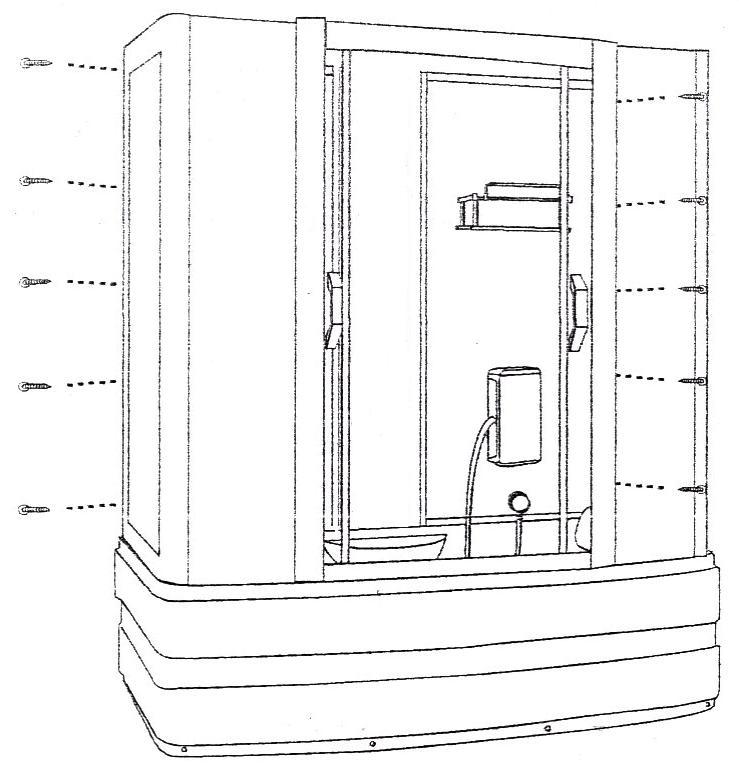 Инструкция установки душевой кабины
