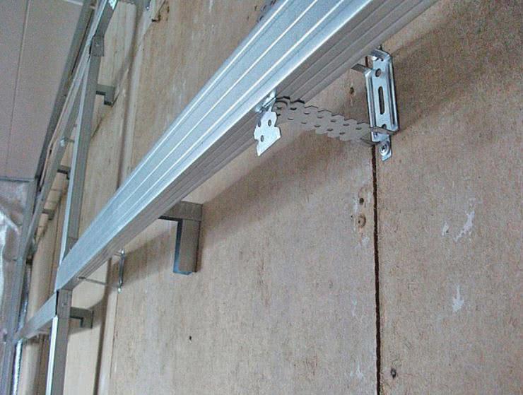 Металлическая обрешетка под стеновые панели