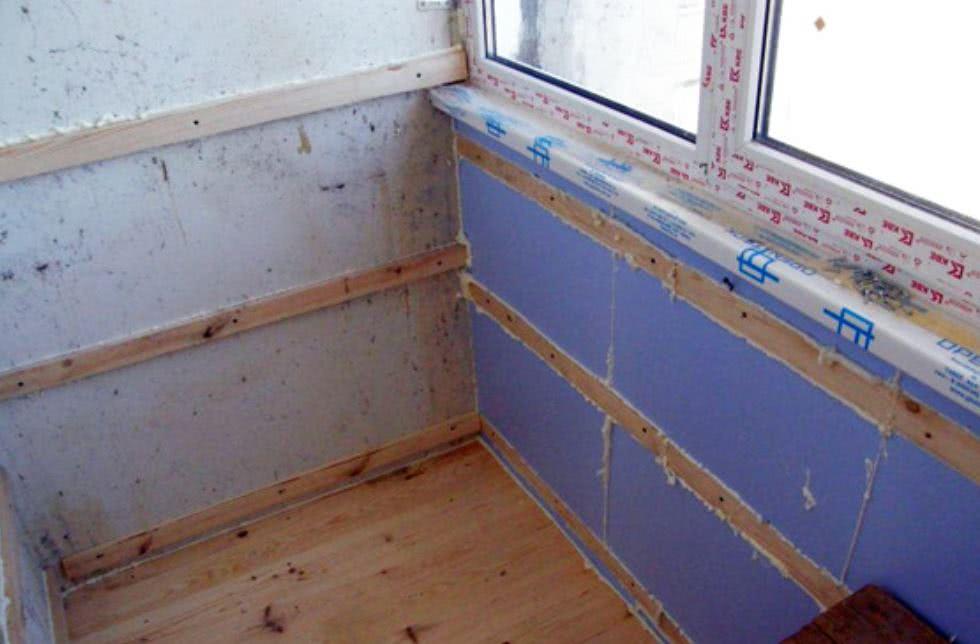 Теплоизоляция перед монтажом стеновых панелей