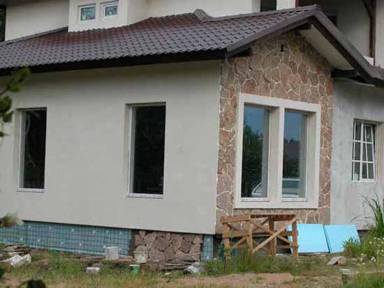 Утепление деревянного дома пеноплексом