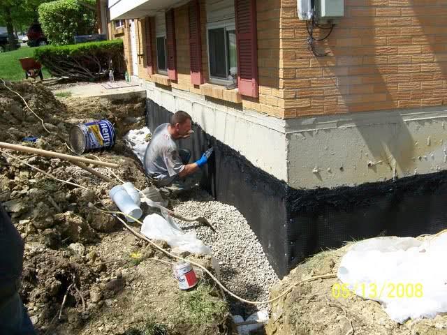 Внешняя гидроизоляция дома своими руками