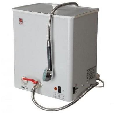 Наливной водонагреватель с душем
