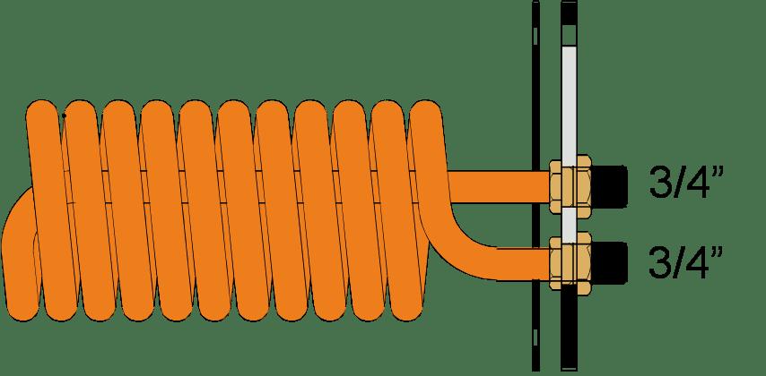 Теплообменники косвенных водонагревателей