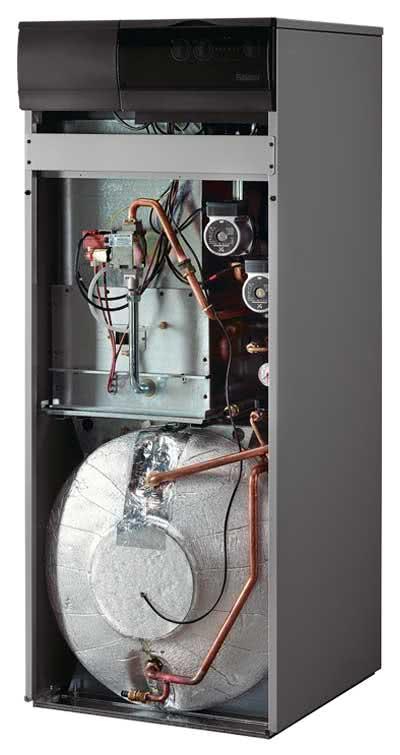 газовый напольный накопительный водонагреватель