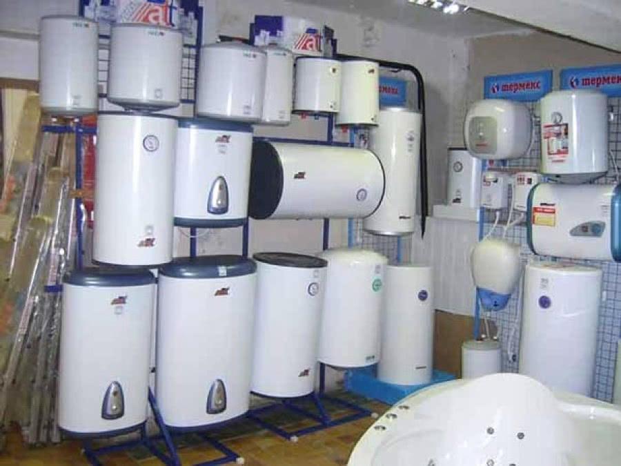 размеры настенного водонагревателя