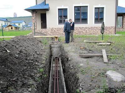Трубы водоснабжения прокладываются для зимнего варианта