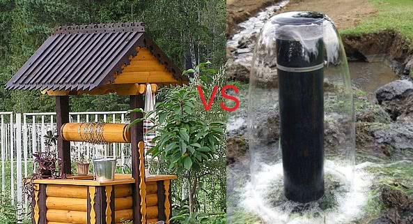 Способы водоснабжения дачи: колодец или скважина
