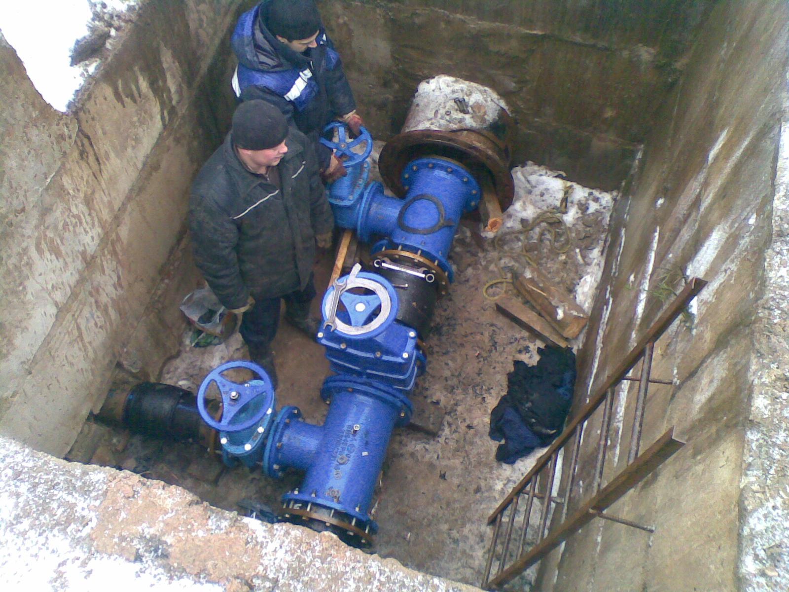 Технология прокладки водопровода и канализации