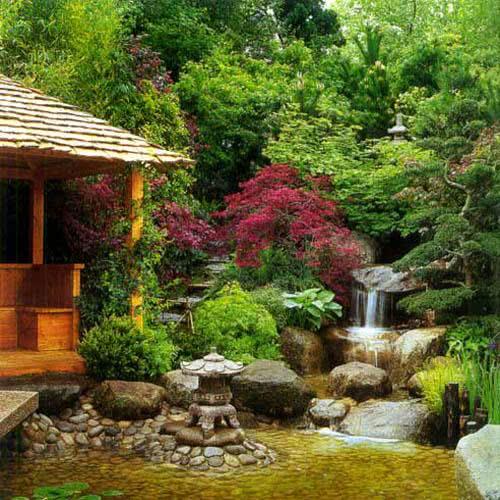 Японский ландшафтный дизайн