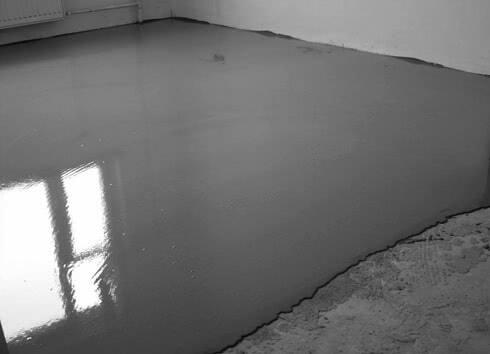 Самовыравнивающаяся стяжка бетонного пола