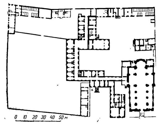 Генералъный план Иезуитского монастыря
