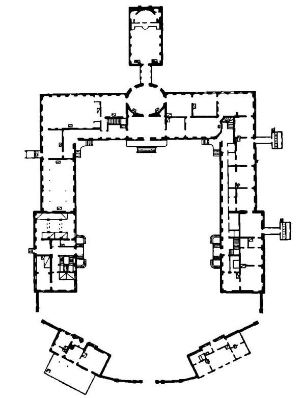 План Нового замка