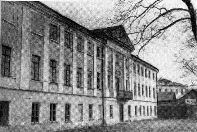 Бывший дом администратора (позднее Балицкого)