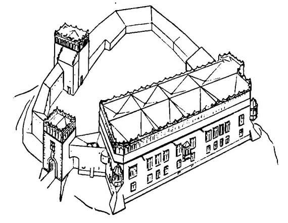 Замок Батория (реконструкция)