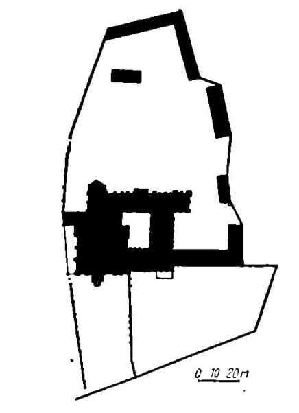 Генеральный план Бернарлинского монастыря