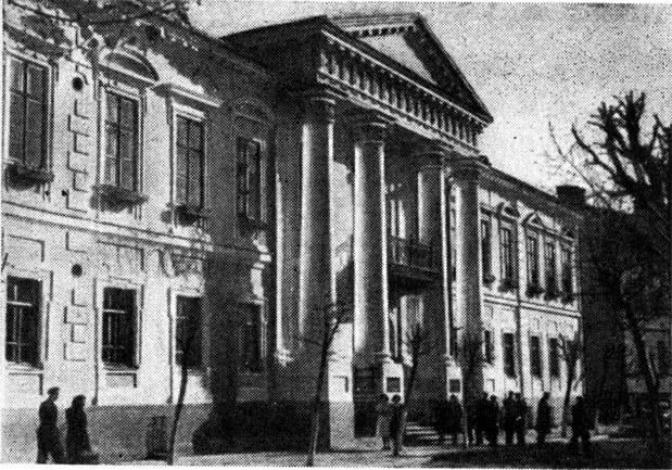 Бывший дом Максимовича