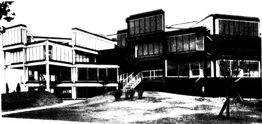 Внешний вид архитектурной школы