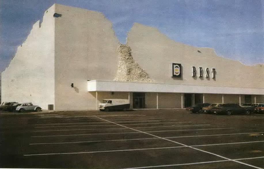 Универмаг БЕСТ в Хьюстоне. Группа САЙТ. Техас, США, 1975