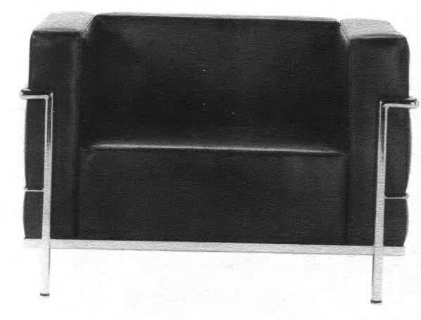 Клубное кресло. Ле Корбюзье, 1928