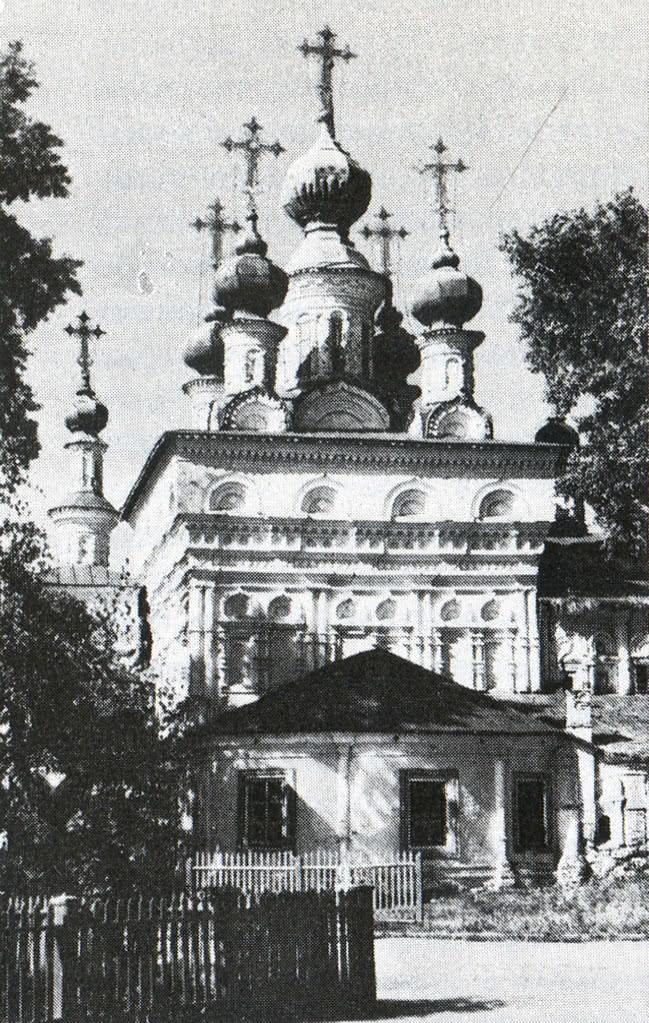 Церковь Вознесения. Вид с восточной стороны