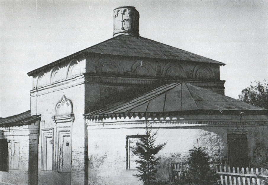 Церковь Власьевская. Вид с юго-восточной стороны